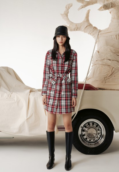 MINI BELTED SHIRTDRESS