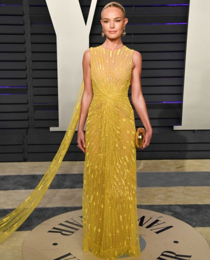 Kate Bosworth Looks Absolutely Stunning In Cong Tri Fall 2019 At Oscar Party
