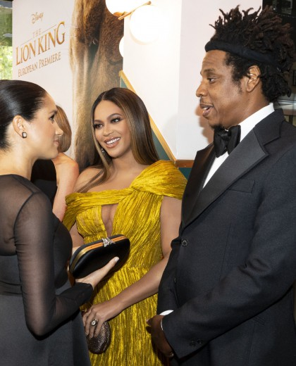 Superstar Beyoncé Met The British Royals At Odeon Luce Leicester Square